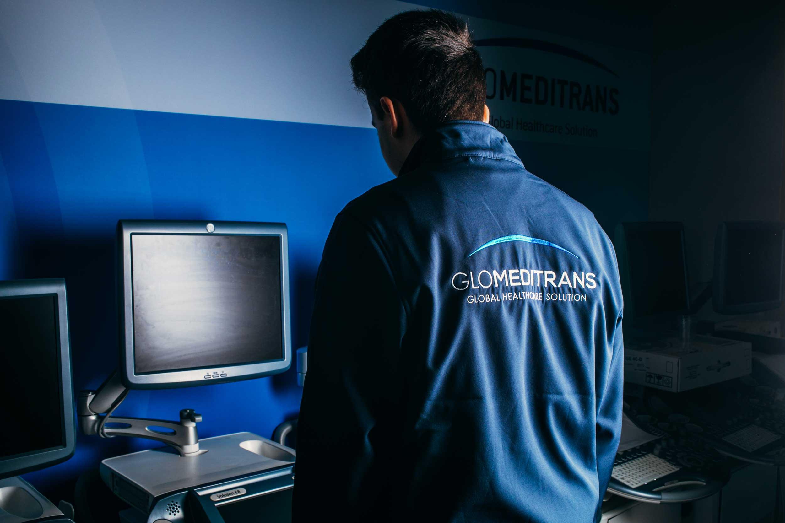 Glomeditrans Gebrauchte Medizintechnik GE Healtcare Ultraschallgerät